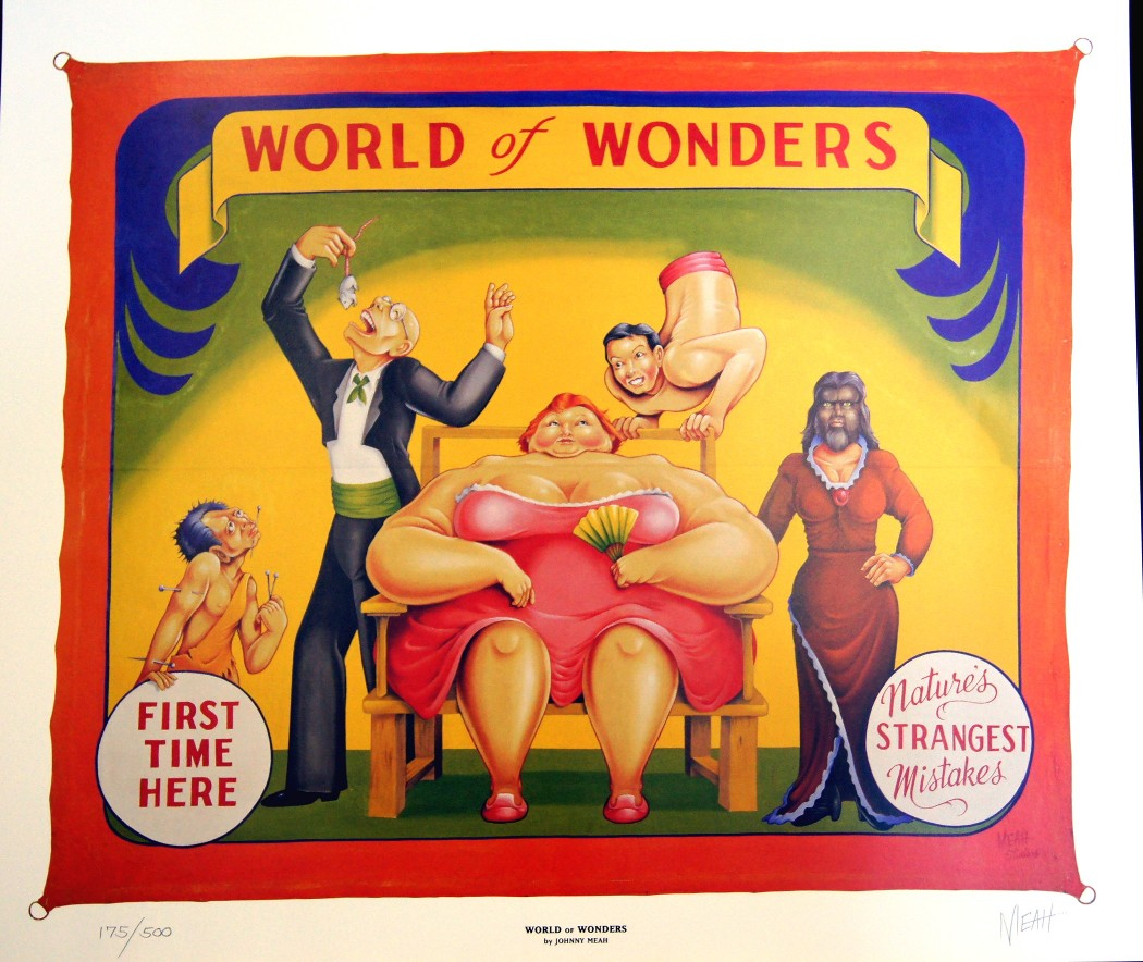 Sideshow World Of Wonders Banner Limited Edition Print